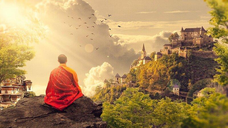チベット仏教層の瞑想とγ(ガンマ)波