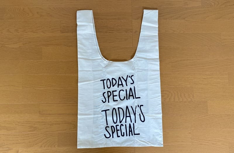 TODAY'S SPECIALのエコバック